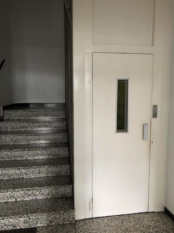 Stiegeneingang
