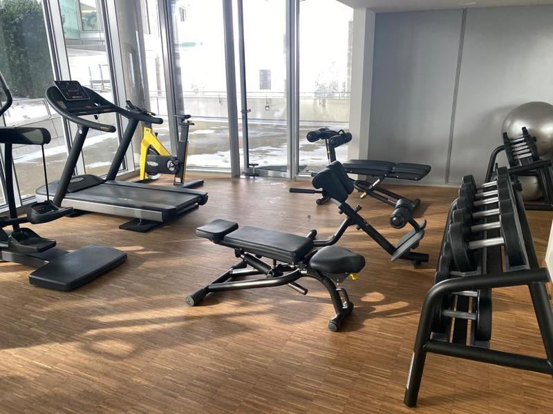 Fitnessstudio im Haus